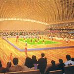 埼玉県所沢市民体育館